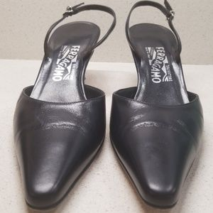 """SALVATORE FERRAGAMO"" Womens heels (size 8)"
